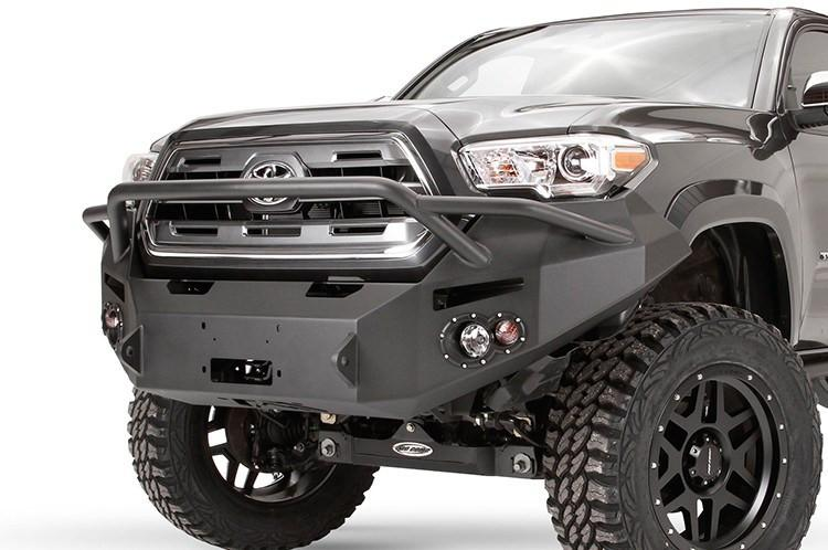 fab fours premium tt16 b3652 1 toyota tacoma winch bumper 2016 pre runner. Black Bedroom Furniture Sets. Home Design Ideas