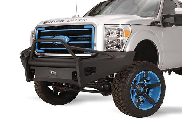 Fab Fours Ford F250/F350 Superduty 2011-2016 Front Bumper Pre-Runner Guard with Tow Hooks FS11-Q2562-1