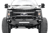 Fab Fours Open Fender Vengeance Pre-Runner Guard Front Bumper 2017-2020 Ford F250/F350 Superduty FS17-V4162-1
