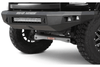 Road Armor 407R0Z-NW 2006-2008 Dodge Ram 1500 Stealth Front Non-Winch Bumper No Guard, Raw Finish and Square Fog Light Hole