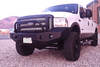 Expedition One Ford F250/350 Superduty 2005-2007 Front Bumper With Center Hoop Winch Ready FORDF250/350FB100_2005-2007_HPC
