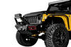 VPR 4X4 VPR-124-S Jeep Wrangler JL 2017-2019 Rally Front Bumper Stubby