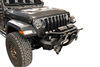 Warrior 6537 Jeep Gladiator JT 2020 MOD Series Front Bumper Stubby With Brush Guard