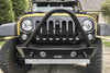 Lod Offroad Destroyer Front Bumper Jeep Wrangler JK 2007-2017 Shorty With Stinger Guard JFB0705