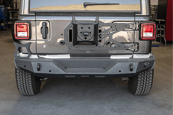 DV8 Offroad Jeep Wrangler JL 2018-2020 Full-Width High Clearance Rear Bumper RBJL-06
