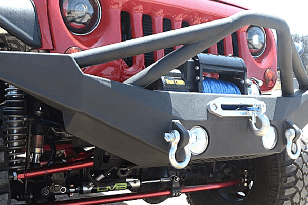DV8 Offroad Jeep Gladiator JT 2020 Front Bumper Full-Length Pre-Runner Guard Winch Ready FBSHTB-10