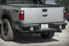 Lod Offroad Signature Rear Bumper Ford F250/F350 Superduty 2011-2016 Heavy Duty Compatible with Reverse Sensors FRB1005