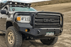 Expedition One GMC Canyon 2015-2020 Front Bumper With Bull Bar Winch Ready GMC-CAN-15+FB-BB-PC