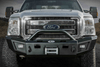 Lod Offroad Signature Front Bumper Ford F250/F350 Superduty 2011-2016 Heavy Duty Base Winch Sensor Ready With Bull Bar Guard FFB1002