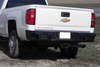 Lod Offroad CRB1005 Chevy Silverado 2500/3500 2015-2018 Signature Rear Bumper  Heavy Duty Compatible with Reverse Sensors