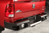 Lod Offroad DRB1005 Dodge Ram 2500/3500 2010-2017 Signature Rear Bumper Heavy Duty Compatible with Reverse Sensors