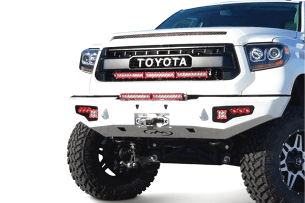 Expedition One Storm Trooper Toyota Tundra 2014-2021 Front Bumper Winch Ready TT14+-FB-ST-PC