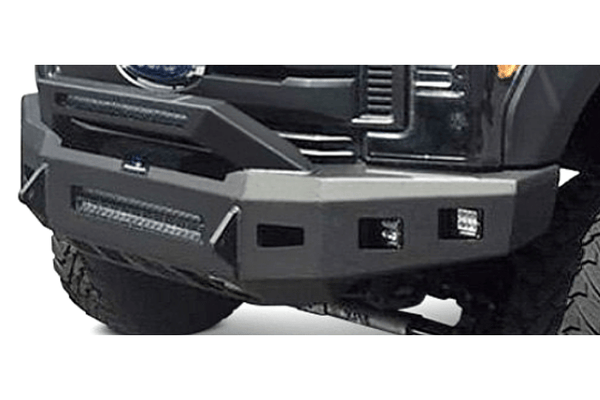 Hammerhead 600-56-0983 Chevy Silverado 2500/3500 2020 Low Profile Front Bumper Formed Guard Winch Ready