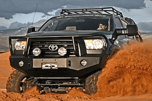 Expedition One Range Max Toyota Tundra 2007-2013 Front Bumper Bull Bar Winch Ready TT07-13-FB-BB-PC