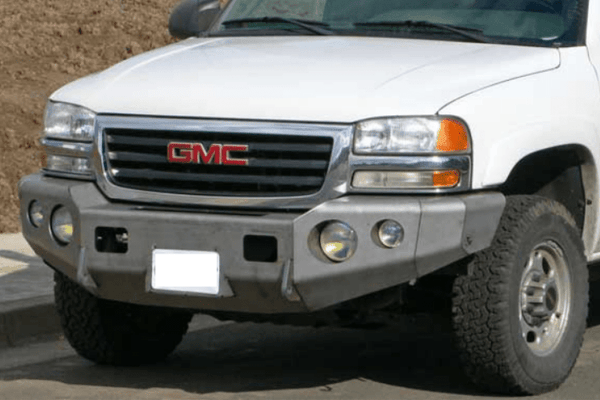 TrailReady PN10601B GMC Sierra 1500 2003-2007.5 Extreme Duty Front Bumper Winch Ready Base