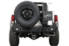Expedition One Dodge Ram 2500/3500 2010-2018 Dual Swing-Out Rear Bumper RAM2500/3500-10-18-RB-DSTC-PC