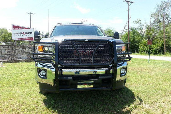 Frontier 200-31-5007 2015 - 2016 GMC SIERRA 2500/3500 Grille Guards - BumperOnly