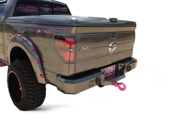 Iron Cross 09-14 Ford F-150 and Raptor Rear Bumper 21-415-09 - BumperOnly