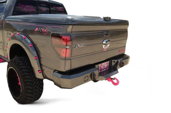 Iron Cross 2009-2014 Ford F-150 and Raptor Rear Bumper 21-415-09 - BumperOnly