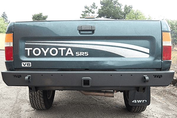 Warrior 53566 Toyota Pickup 1989-1995 With Hitch Receiver Rear Bumper