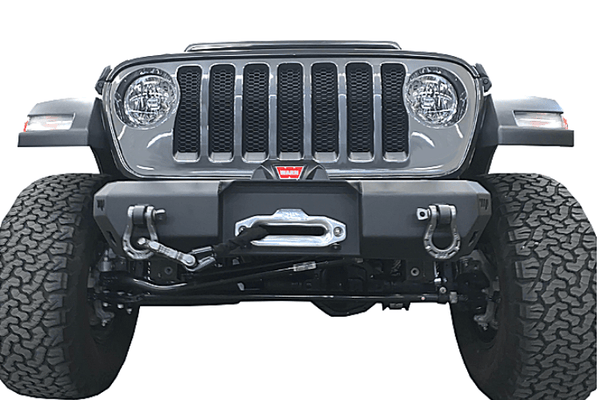 Warrior 6527 Jeep Gladiator JT 2020 MOD Series Front Bumper Stubby