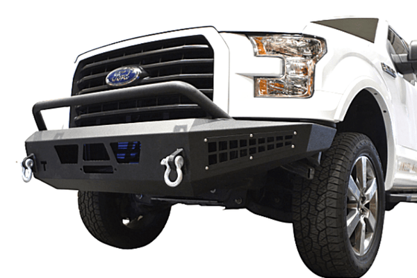 DV8 Offroad Ford F-150 2015-2017 Front Bumper With Hoop Winch Ready FBFF1-07