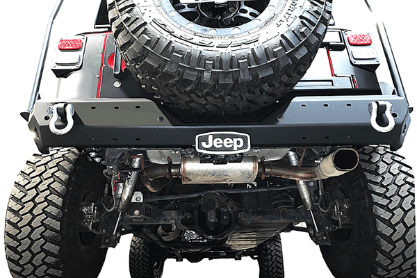 Warrior 6590 Jeep Wrangler JK 2007-2018 MOD Series Rear Bumper