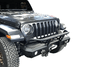 Warrior 6538 Jeep Gladiator JT 2020 MOD Series Front Bumper Mid-Width With Brush Guard