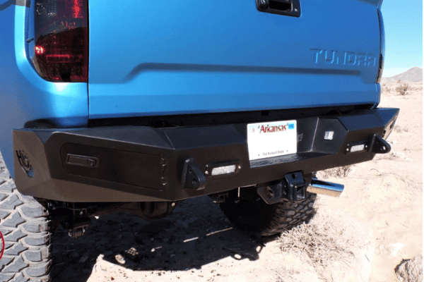 ADD R747311340103 2014-2021 Toyota Tundra Honeybadger Rear Bumper with Backup Sensor Cutouts