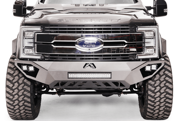 Fab Fours Open Fender Vengeance No Guard Front Bumper 2017-2020 Ford F250/F350 Superduty FS17-V4161-1