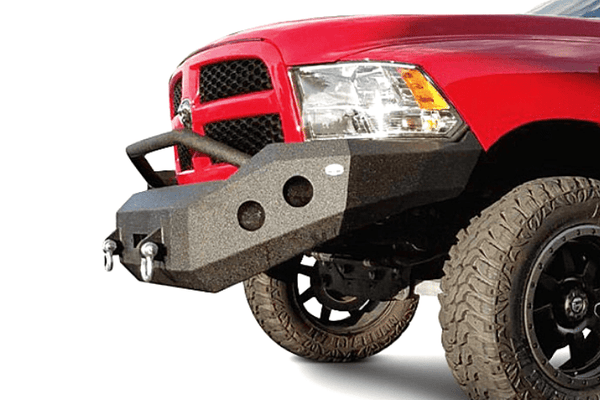 DV8 Offroad Dodge Ram 1500 2013-2015 Front Bumper With Hoop Winch Ready FBDR1-01