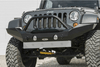 Lod Offroad Destroyer Front Bumper Jeep Wrangler JK 2007-2017 Full-Width With Bull Bar Guard JFB0723