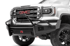 Fab Fours GS16-K3962-1 GMC Sierra 1500 2016-2018 Black Steel Front Bumper Pre-Runner Guard with Tow Hooks