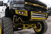 Bodyguard GAF08BN2T Ford F250/F350 Superduty 2008-2010 A2L Base Front Bumper Double Light Bar Cutout Textured Black Powder Coat