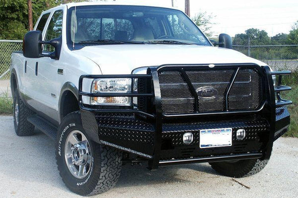 Frontier 300-10-5005 Ford F450 2005 - 2007 Front Bumper - BumperOnly