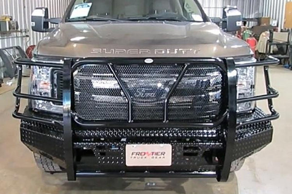 Frontier 300-11-7006 Ford F250/F350 Superduty Front Bumper 2017-2019 with Light Bar