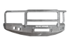Road Armor 314R5Z-NW 2014-2015 Chevy Silverado 1500 Front Bumper, Raw, Lonestar Guard, Stealth Series, Square Fog Light Hole, Non-Winch
