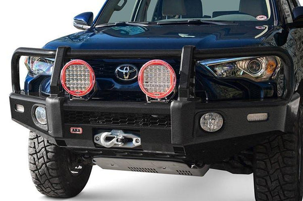 ARB 3421560K Toyota 4 Runner 2014-2017 Summit Bar Front Bumper Winch Ready with Grille Guard Integrit Powder Coat Finish