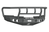Road Armor 37702B 2008-2013 Chevy Silverado 1500 Front Bumper, Stealth Series, Winch-Ready, Round Light Port, Titan II Guard, Black