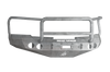 Road Armor 37705Z 2008-2013 Chevy Silverado 1500 Front Bumper, Raw, Lonestar Guard, Stealth Series, Round Fog Light Hole, Winch-Ready