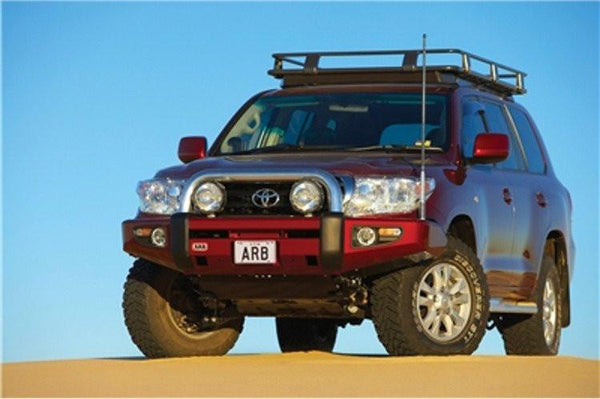 ARB Toyota Land Cruiser 2007-2011 Front Bumper 200 Series Winch Ready with Hoop 3915040