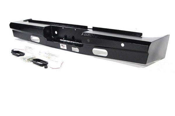 American Built GMC Sierra 2500/3500 2008-2014 Rear Bumper with Back-up Sensors 3RX23082