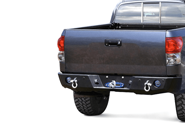 Expedition One Range Max Toyota Tundra 2007-2013 Rear Bumper Winch Ready TT07-13-RB-PC