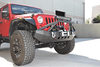 DV8 Offroad Jeep  Gladiator JT 2020 Front Bumper Mid-Width HD with Bullbar Winch Ready FBSHTB-06
