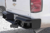 Lod Offroad Signature Rear Bumper Chevy Silverado 2500/3500 2015-2018 Heavy Duty Compatible with Reverse Sensors CRB1005