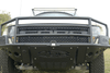 ADD F012552680103 Ford F150 Raptor 2010-2014 Rancher Front Bumper with Satin Black Panels