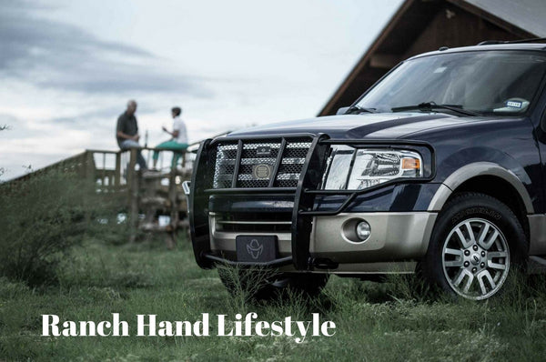 Ranch Hand GGF07HBL1 2007-2017 Ford Expedition/ExpeditionEL Legend Series Grille Guard - BumperOnly