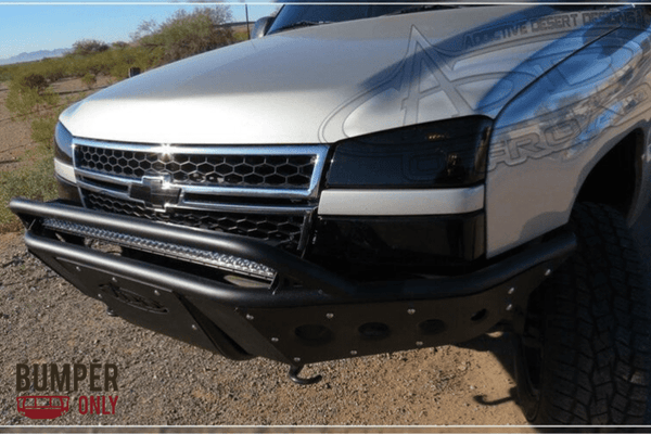 ADD F323182410103 Chevy Silverado 1500 2003-2007 Stealth Front Bumper With Light Mounts
