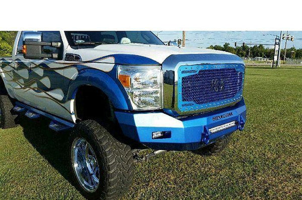Iron Cross 08-10 Ford Super Duty F250-F550 Front Bumper 40-425-08 - BumperOnly
