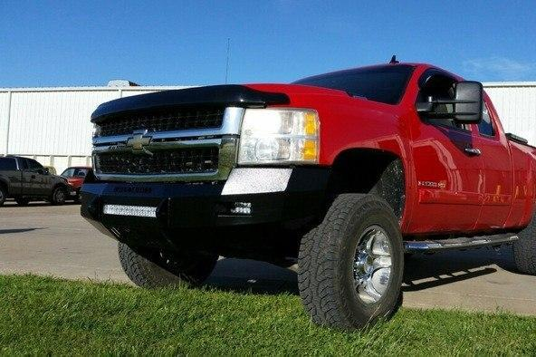 Iron Cross 2007-2010 Chevy Silverado 2500/3500 Low Profile Front Bumper 40-525-07